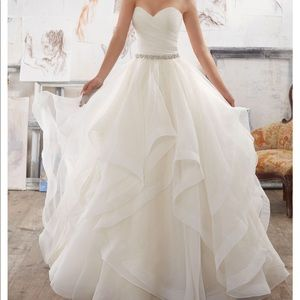 Blu Bridal by Morilee Style 5504 Wedding Gown NWT